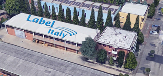 Label Italy Broadcast Telecommunications Headquarter