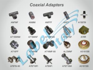 Label Italy List Coaxial Adapters