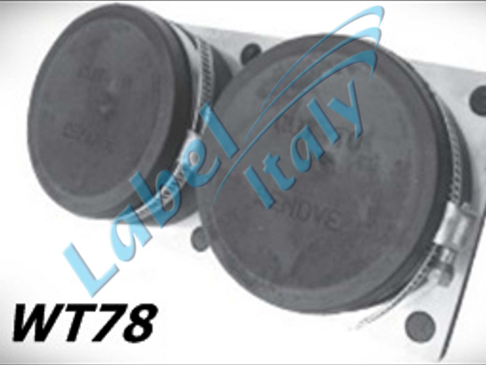 Label Italy WT78 coaxial accessories